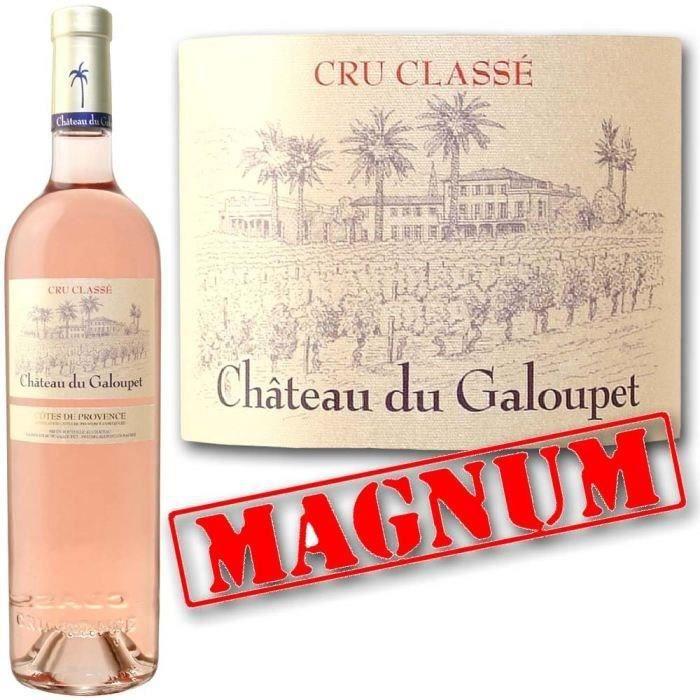 VIN ROSE Mag Ch. Du Galoupe 2013 C.de Provence Cru Classé