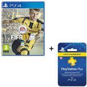 JEU PS4 FIFA 17 Jeu PS4 + Abonnement PlayStation Plus 3 mo