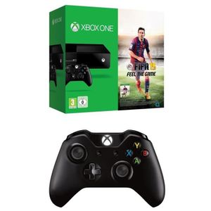 Pack Console XBOX One + Jeu FIFA 15 + Manette