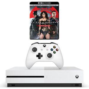 CONSOLE XBOX ONE NOUV. Xbox One S 500 Go + Batman v Superman : L'aube de