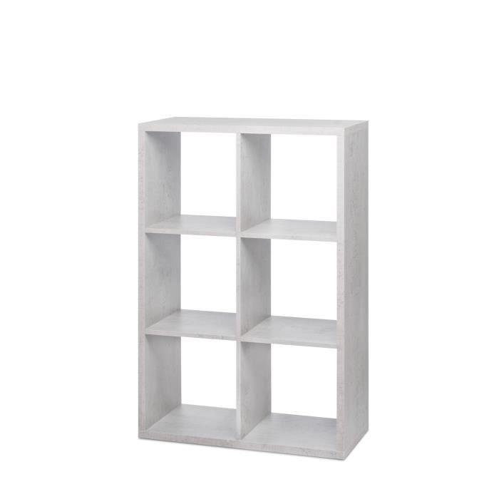 Meuble de rangement gris achat vente meuble de rangement gris pas cher - Panier a linge compartimente ...