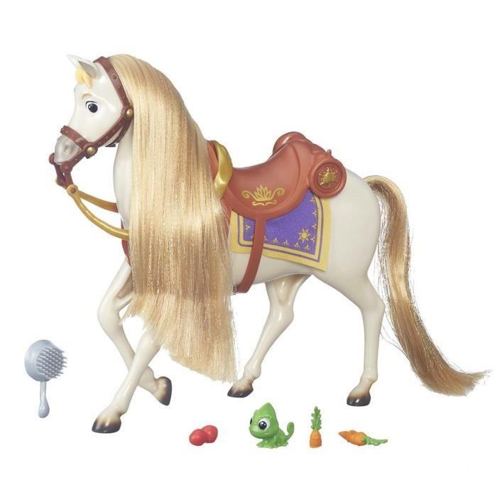 Disney princesse maximus cheval royal achat vente accessoire poup e soldes d hiver d s - Cheval de raiponce ...
