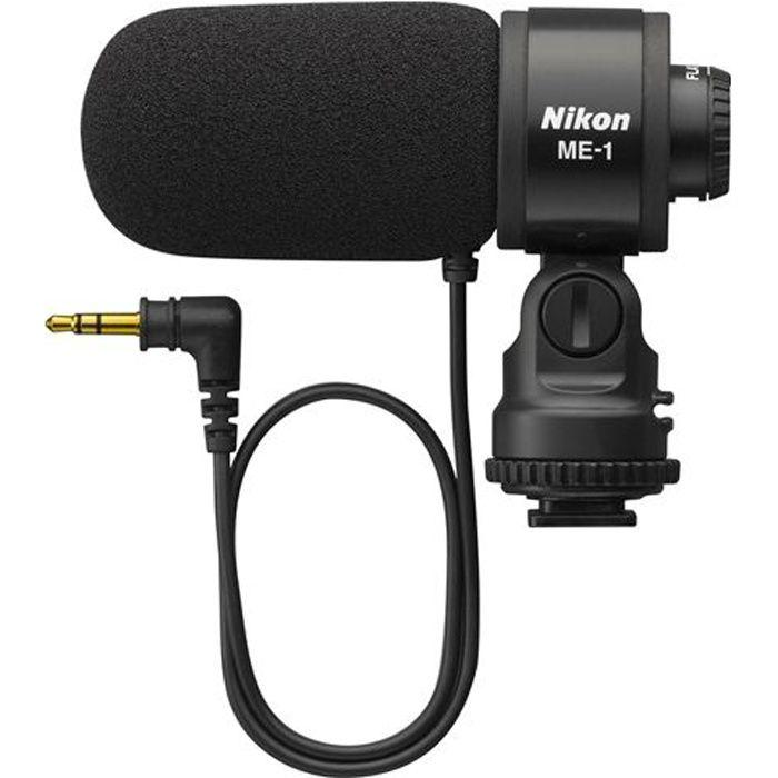 NIKON ME 1 Microphone Stéréo pour Reflex microphone, prix pas cher