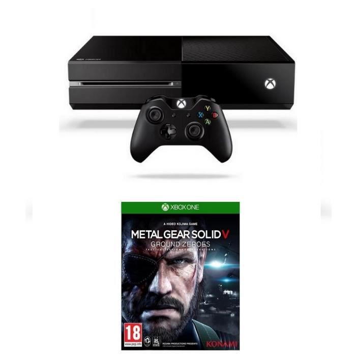 CONSOLE XBOX ONE NOUV. Console XBOX One + Jeu Metal Gear Solid 5