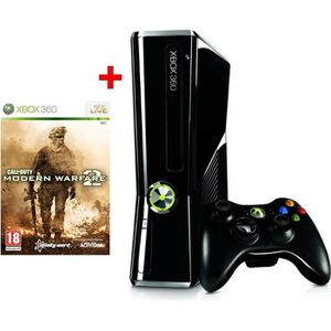 CONSOLE XBOX 360 Xbox 360 250 Go + CALL OF DUTY MODERN WARFARE 2