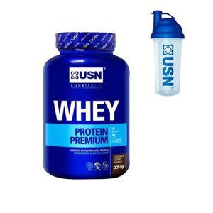 PROTÉINE USN Protéine 100% Whey Chocolat 2.28 kg + Pre-entr