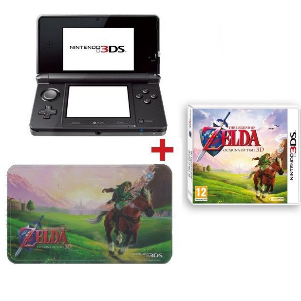 3ds noire cosmos zelda ocarina of time housse achat for Housse 3ds xl zelda