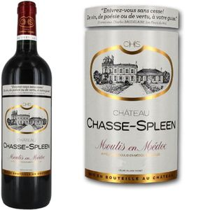 VIN ROUGE Château Chasse Spleen Moulis 2010