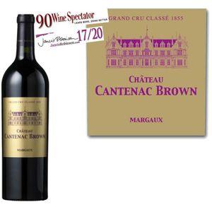 VIN ROUGE Château Cantenac Brown Troisième Grand Cru Classé