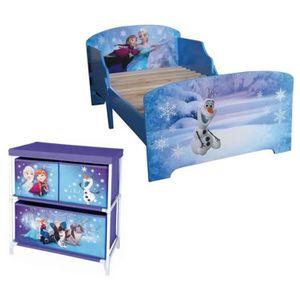 lit reine des neiges avec matelas achat vente jeux et. Black Bedroom Furniture Sets. Home Design Ideas