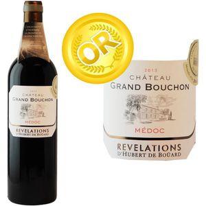 VIN ROUGE Château Grand Bouchon Médoc 2013 - Vin Rouge