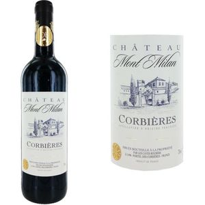 VIN ROUGE Château Mont Milan Corbières 2013 - Vin rouge