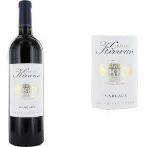 VIN ROUGE Château Kirwan Grand Vin de Bordeaux Margaux Cru C