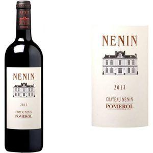 VIN ROUGE Château Nénin Pomerol Grand Vin de Bordeaux 2014 -