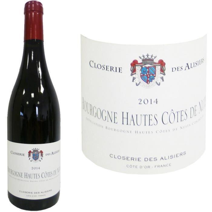 closerie des alisiers bourgogne hautes c tes de nuits 2014 vin rouge achat vente vin rouge. Black Bedroom Furniture Sets. Home Design Ideas