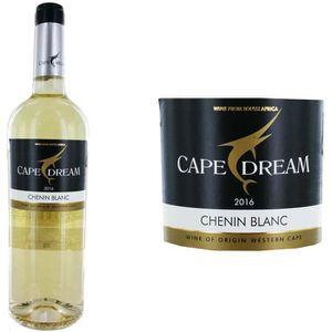 VIN BLANC Cape Dream Vin d'Afrique du Sud Chenin 2016 - Vin
