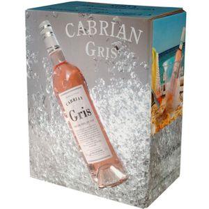 VIN ROSÉ BIB 3L Cabrian Gris IGP Vins de La Méditerranée vi