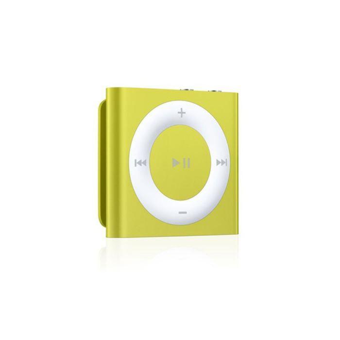 ipod shuffle 2gb yellow lecteur mp3 avis et prix pas. Black Bedroom Furniture Sets. Home Design Ideas