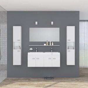 Double vasque achat vente double vasque pas cher - Meuble salle de bain 120 cm double vasque ...