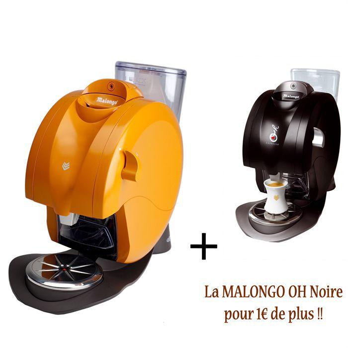 malongo oh pack mandarine black achat vente machine expresso cdiscount. Black Bedroom Furniture Sets. Home Design Ideas