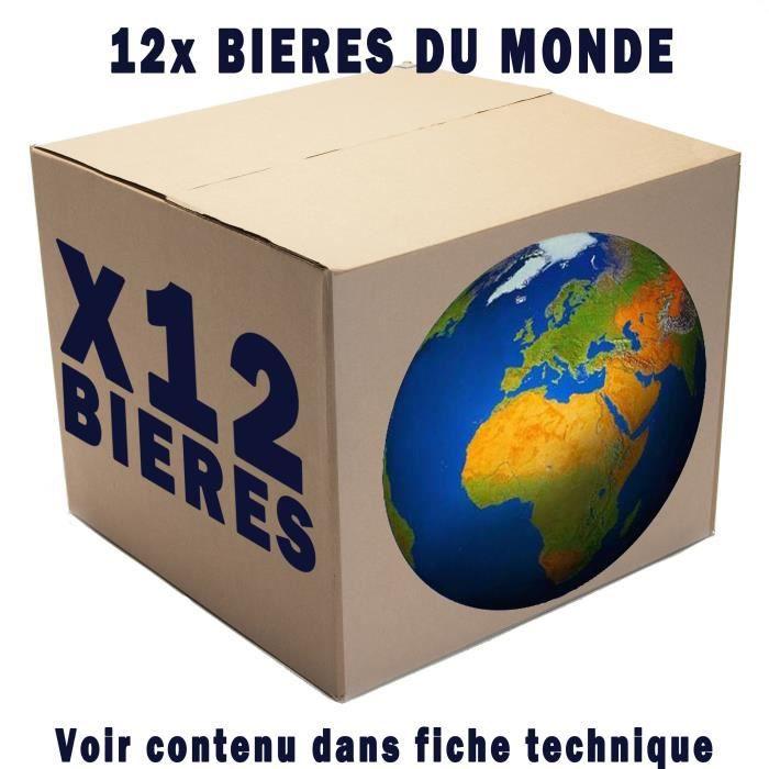 12 bi res tour du monde achat vente bi re 12 bi res tour du monde cdiscount. Black Bedroom Furniture Sets. Home Design Ideas