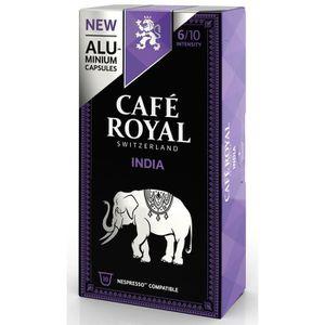 CAFÉ - CHICORÉE Café Royal Single Origin India Capsules compatible