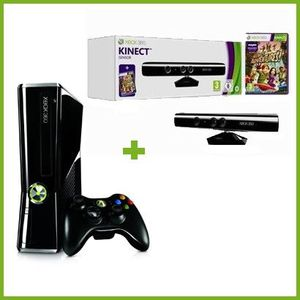 CONSOLE XBOX 360 Xbox 360 250 Go+Pack Kinect