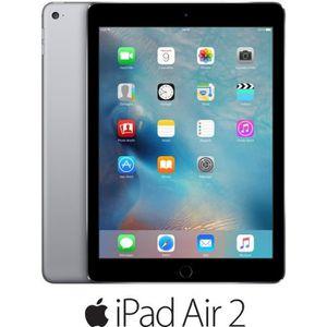 TABLETTE TACTILE Apple iPad Air 2 Wi-Fi 16Go Gris sidéral
