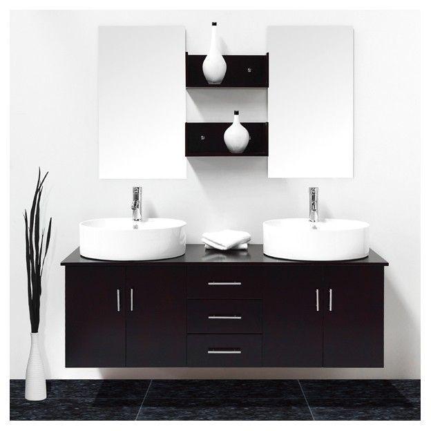 Meubles salle de bain salles de bain compl tes achat vente meubles salle - C discount meuble salle de bain ...