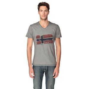 POLO GEOGRAPHICAL NORWAY T-Shirt Jacardi Homme