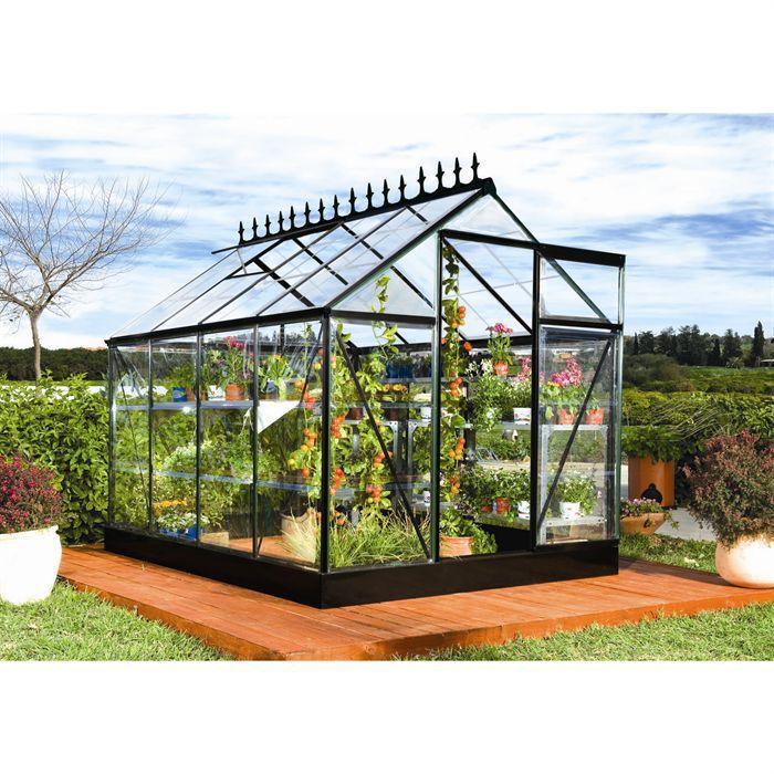 Serre noire victorienne achat vente serre de jardinage for Acheter un composteur de jardin