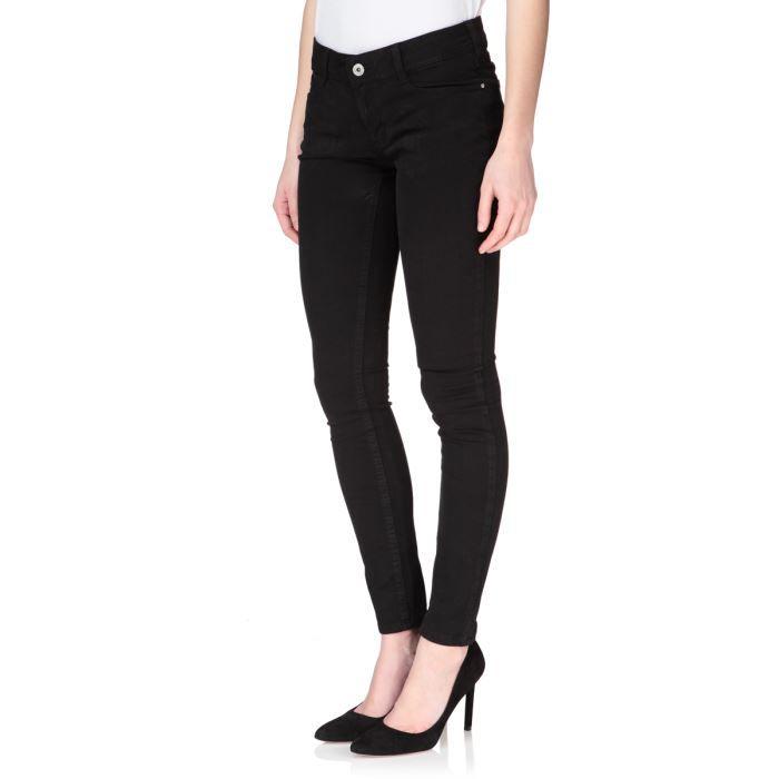 kaporal jean quinze slim femme black achat vente jeans. Black Bedroom Furniture Sets. Home Design Ideas