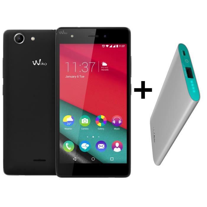 Wiko pulp 4g noir star power 4000mah smartphone avis for Photo ecran wiko pulp