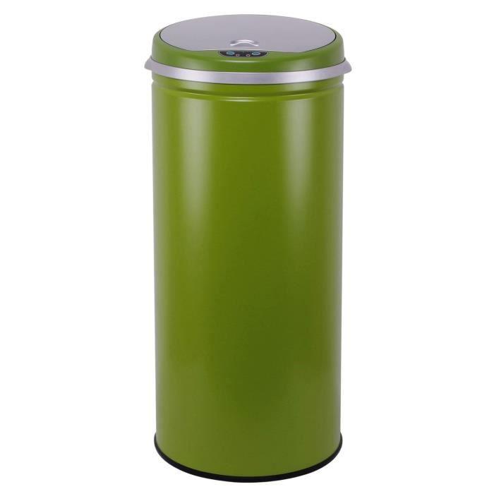 poubelle corbeille kitchen move poubelle automatique 42l green. Black Bedroom Furniture Sets. Home Design Ideas