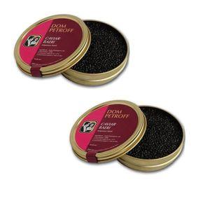 CAVIAR DOM PETROFF Caviar Baeri Origine Aquitaine 2x50g