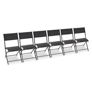 chaise de jardin plastique - résine - achat / vente chaise de ... - Chaise De Jardin Pliante Aluminium