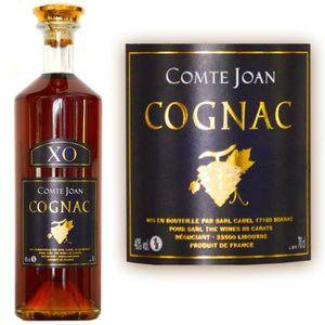 DIGESTIF EAU DE VIE Cognac Comte Joan XO  Hors d'âge 60 ans 40°
