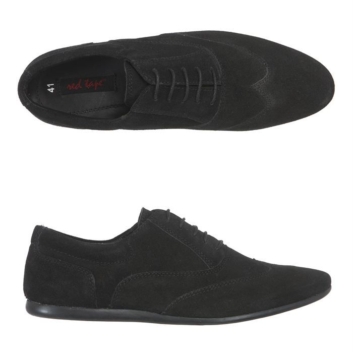redtape chaussures derby cuir ingo homme homme noir achat vente redtape derby ingo homme. Black Bedroom Furniture Sets. Home Design Ideas