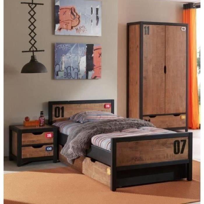 alex chambre compl te enfant 4 pi ces nature achat vente chambre compl te alex chambre. Black Bedroom Furniture Sets. Home Design Ideas
