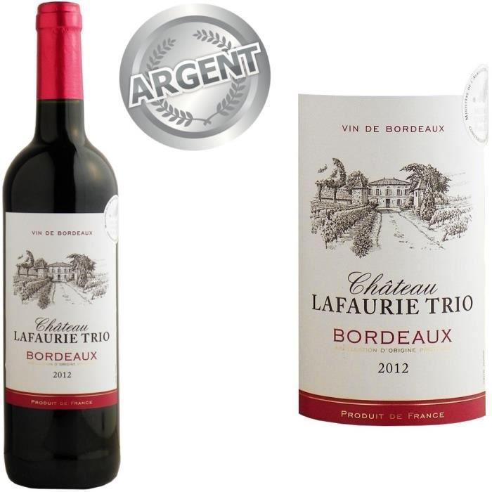 ch teau lafaurie trio bordeaux 2012 vin rouge achat vente vin rouge ch teau lafaurie trio. Black Bedroom Furniture Sets. Home Design Ideas