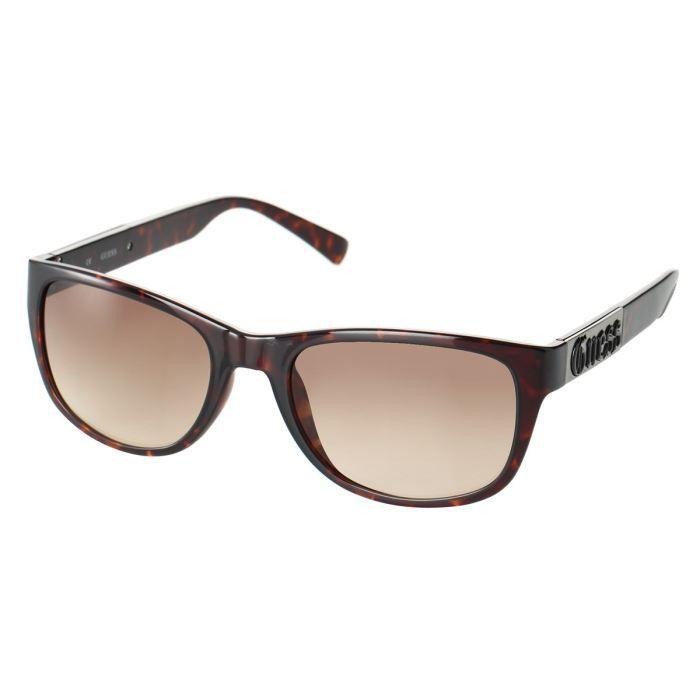 guess lunettes de soleil femme marron achat vente. Black Bedroom Furniture Sets. Home Design Ideas