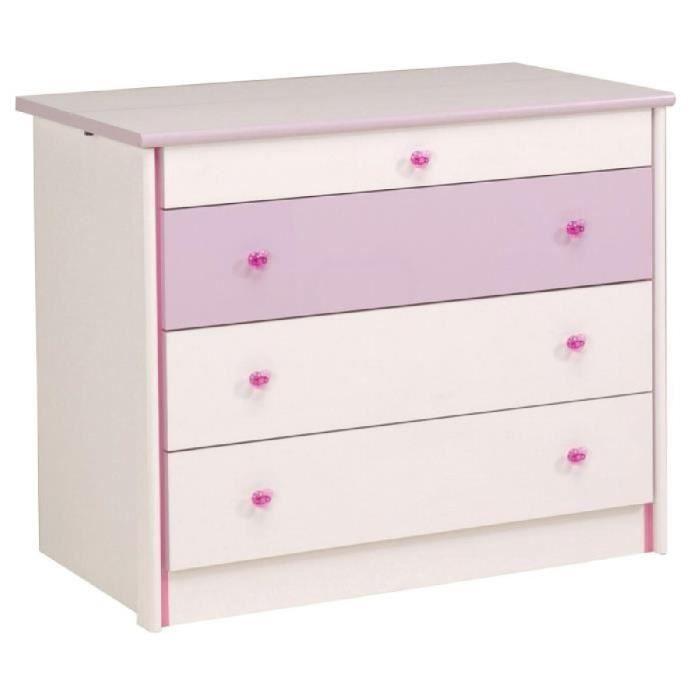 Ladys commode 3 tiroirs 1 secret achat vente commode de chambre ladys c - Lit complet pas cher ...