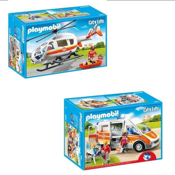 playmobil pack l 39 h pital p diatrique 2 achat vente univers miniature cdiscount. Black Bedroom Furniture Sets. Home Design Ideas