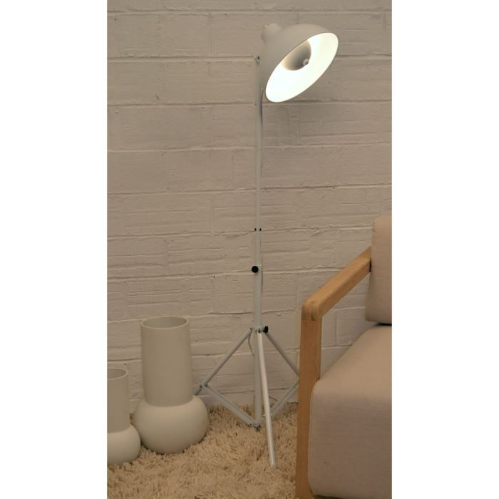 projo lampadaire projecteur blanc achat vente projo. Black Bedroom Furniture Sets. Home Design Ideas