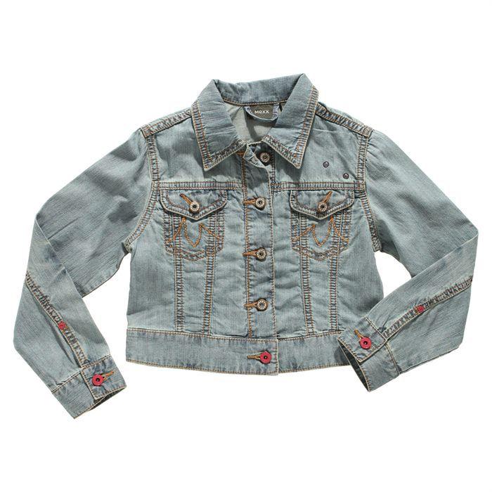 mexx veste en jean enfant achat vente veste mexx veste. Black Bedroom Furniture Sets. Home Design Ideas