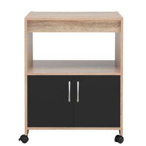 plan de travail a roulette achat vente plan de travail a roulette pas cher cdiscount. Black Bedroom Furniture Sets. Home Design Ideas