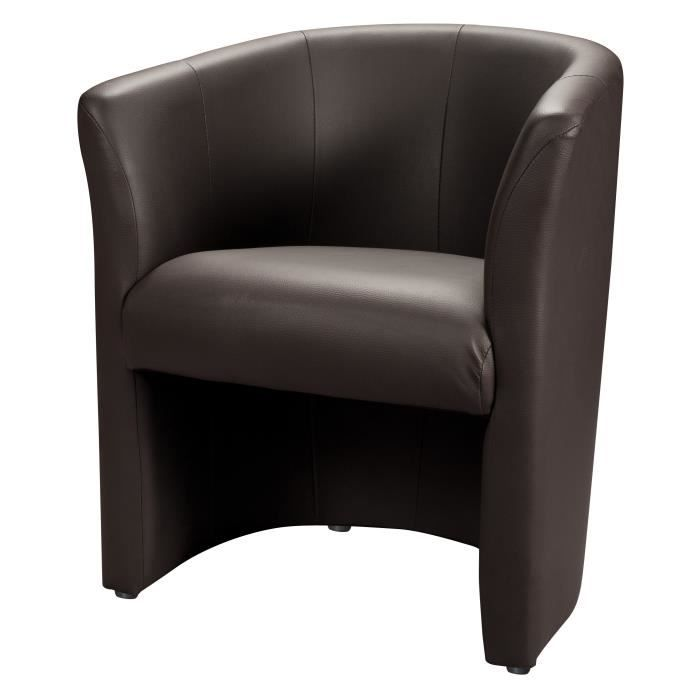 baya fauteuil cabriolet choco achat vente fauteuil pvc. Black Bedroom Furniture Sets. Home Design Ideas