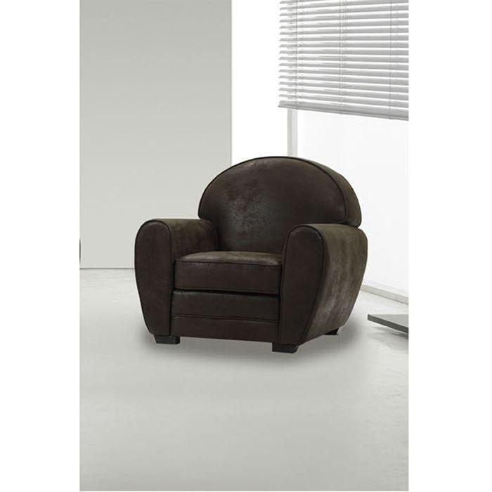 Zen fauteuil cabriolet chocolat vieilli achat vente fauteuil essences div - Fauteuil cabriolet chocolat ...