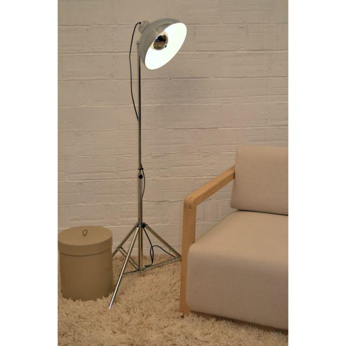 projo lampadaire projecteur chrome achat vente projo. Black Bedroom Furniture Sets. Home Design Ideas