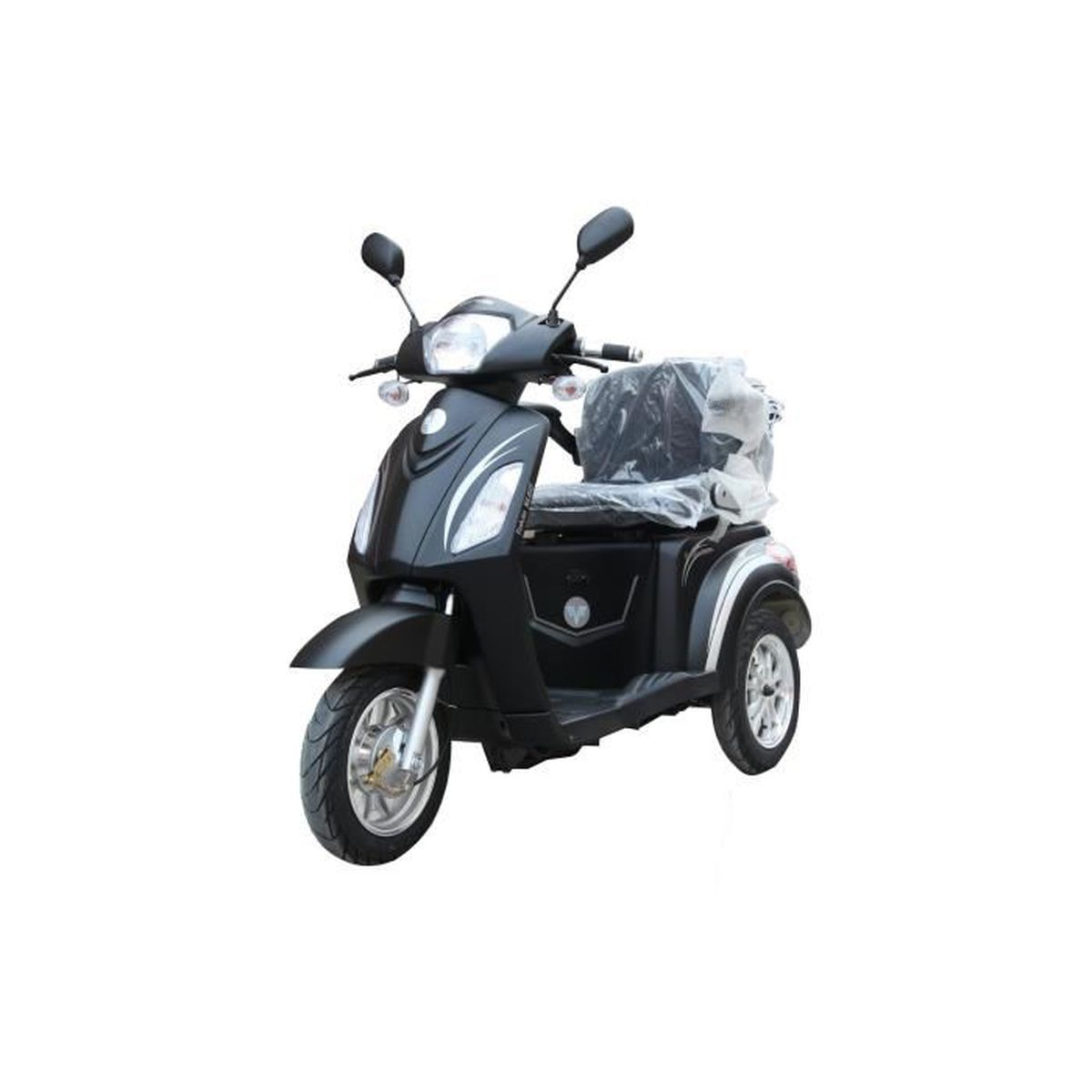 e road scooter 3 roues 1500 w batterie lithium noir achat vente scooter e road scooter 3. Black Bedroom Furniture Sets. Home Design Ideas